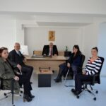 Başkan Gökhan, Kentsel Hizmetler'i Ziyaret Etti